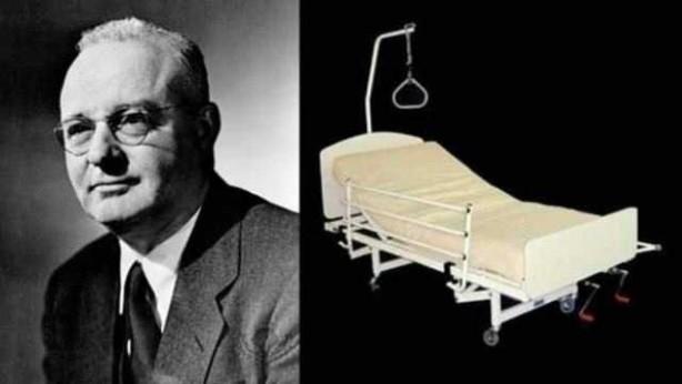 Foto - Thomas Midgley Jr. (1889-1944) İCADI: Engelliler için yatağa yatıran robot... SONU: Mekanizmanın demirlerine düşünce boğazı kesildi. (İSTİKBAL)