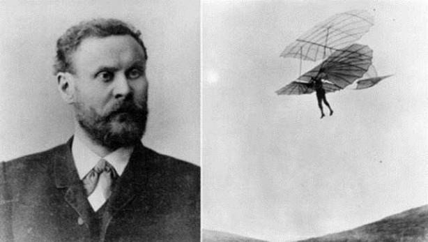 Foto - Otto lilienthal (1848-1896) İCADI: Planör... SONU: Fırtınadan dolayı kontrolü kaybetti ve düşerek öldü.