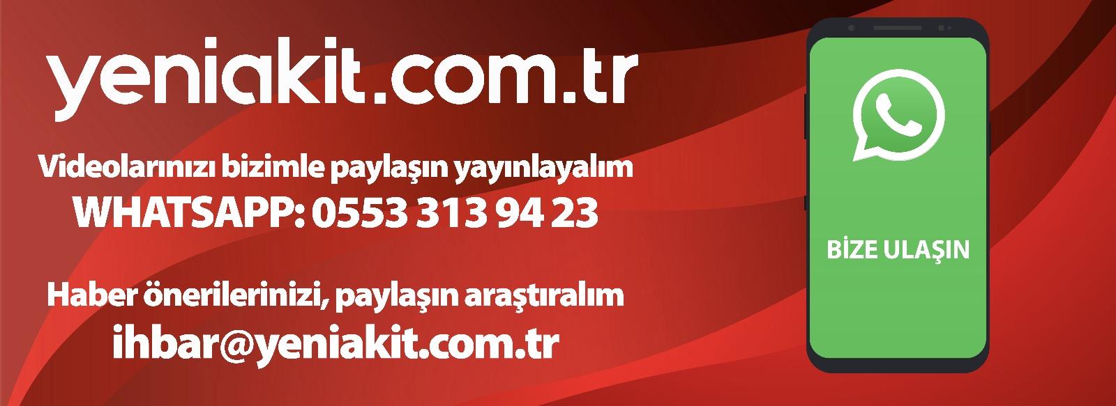 Akit - WhatsApp İhbar Hattı