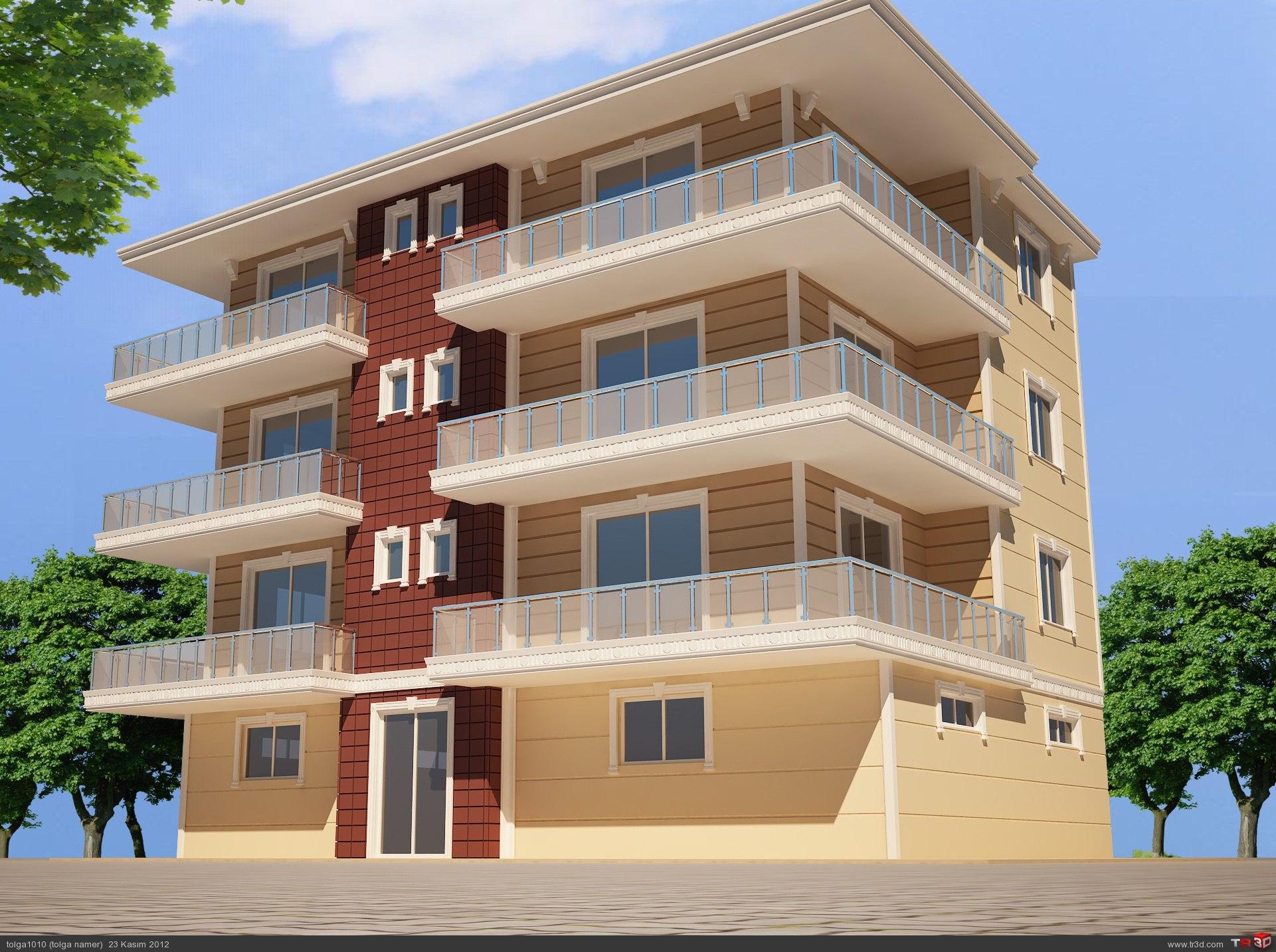 Satılık 4 katlı bina