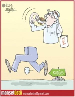 Yeni Akit Gazetesi - Günün Karikatürü 13.12.2017