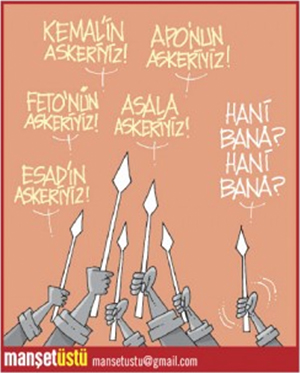 Yeni Akit Gazetesi - Günün Karikatürü 19.01.2018