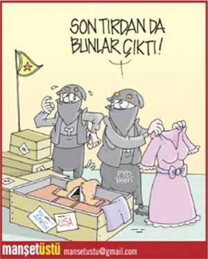 Yeni Akit Gazetesi - Günün Karikatürü 20.01.2018