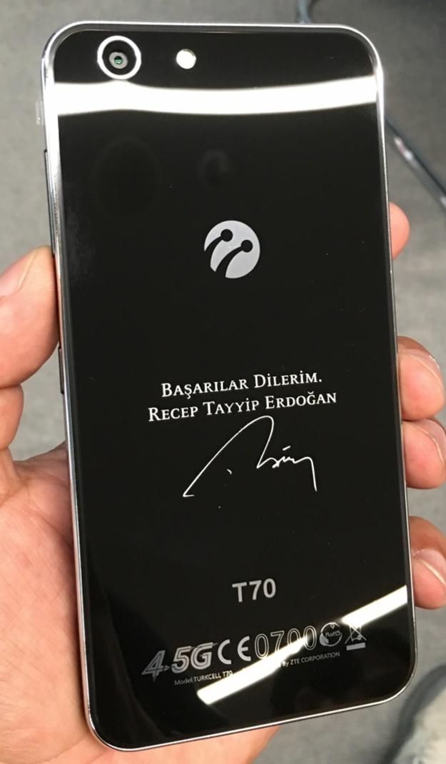 Turkcell'den Recep Tayyip Erdoğan'a özel hediye