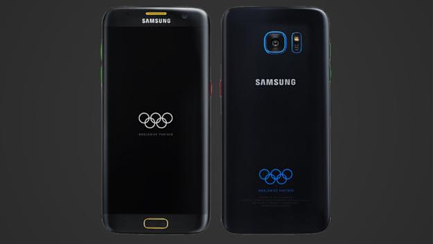 olimpiyatlara özel Galaxy S7