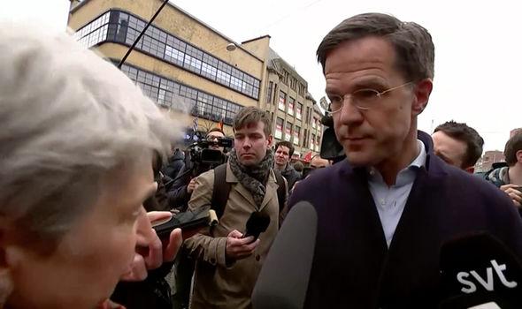 Hollanda başbakani Mark Rutte