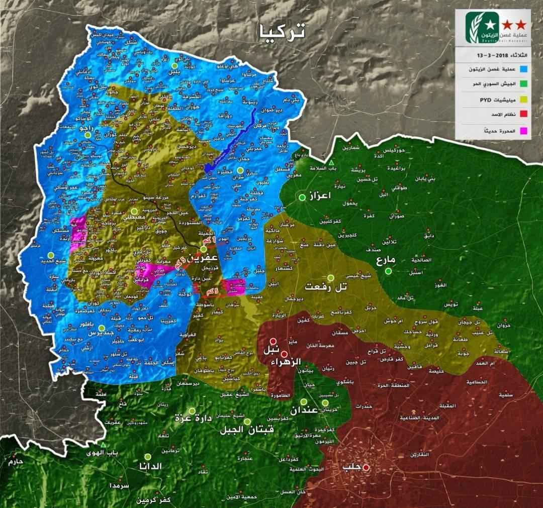Afrin'de güncel durum