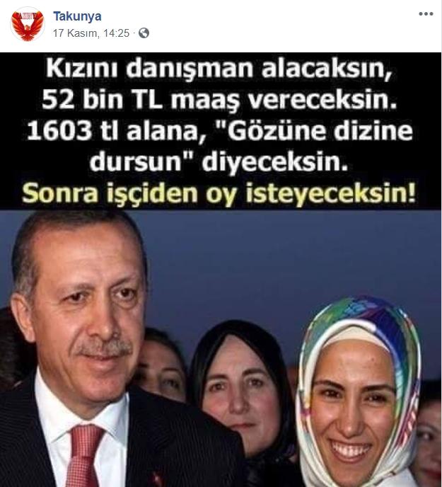 Sumeyye Erdogan A Cirkin Iftira Yeni Akit