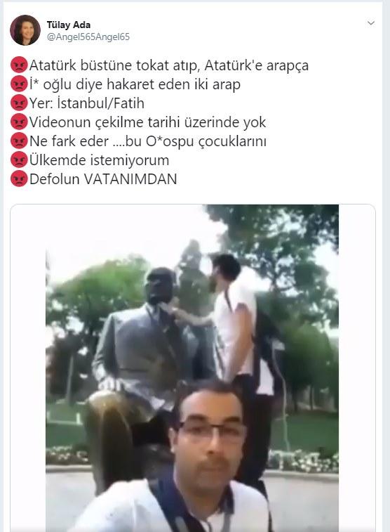 Darbeci Sisiden Istanbulun Göbeğinde M Kemal Provokasyonu