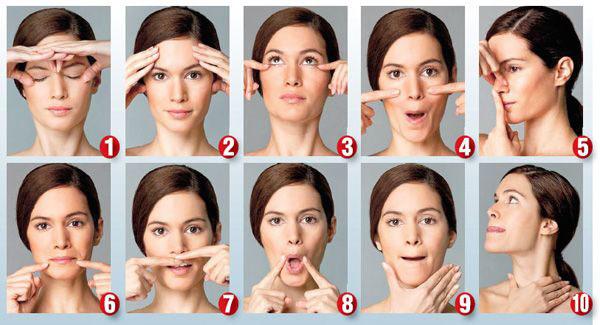 yüz yogası- yüz egzersizleri