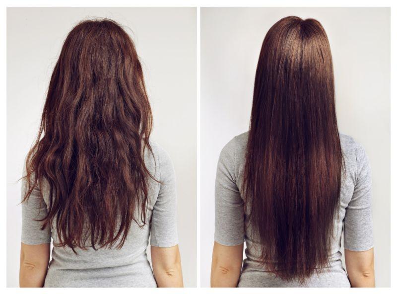 doğal yollarla saç nasıl düzleştirilir?