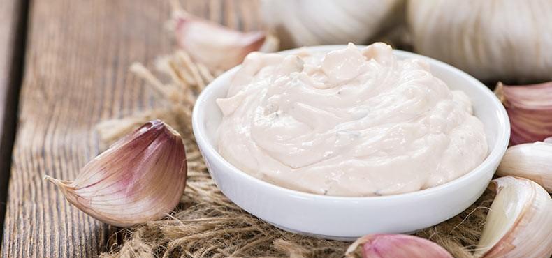 sarımsaklı mayonez - özel soslar - manga sosları