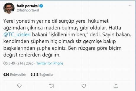 Yerel hükümet' skandalına imza atan Fatih Portakal'dan komik ...