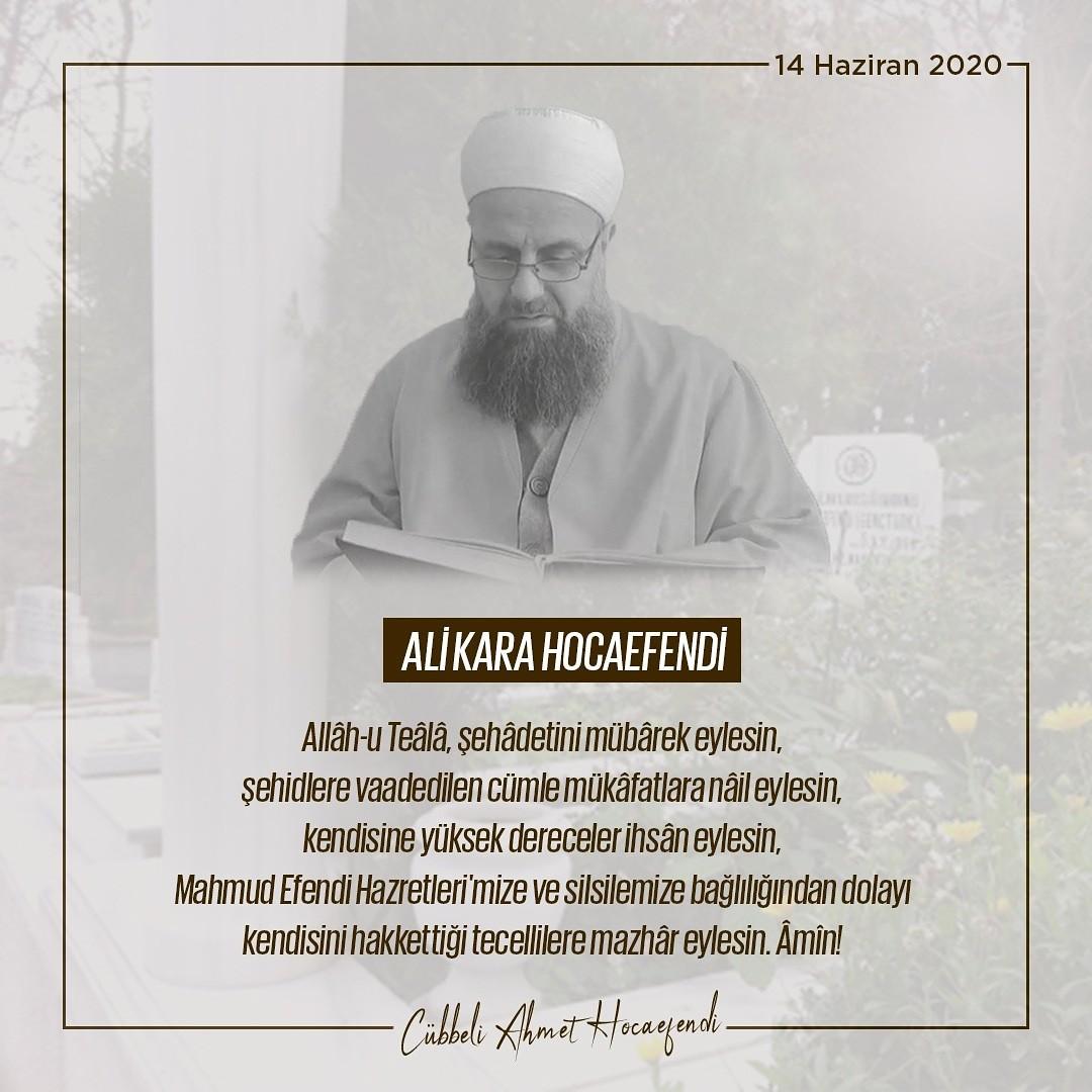 1592154804 06d640 Cübbeli Ahmet Hoca acı haberi duyurdu! Koronavirüs nedeniyle vefat etti 1
