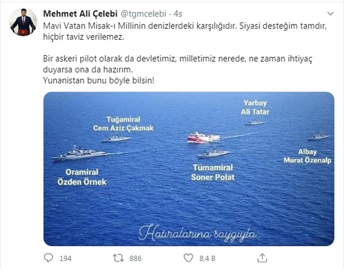 CHP'li vekilden hükümete takdir toplayan 'Doğu Akdeniz' desteği ...