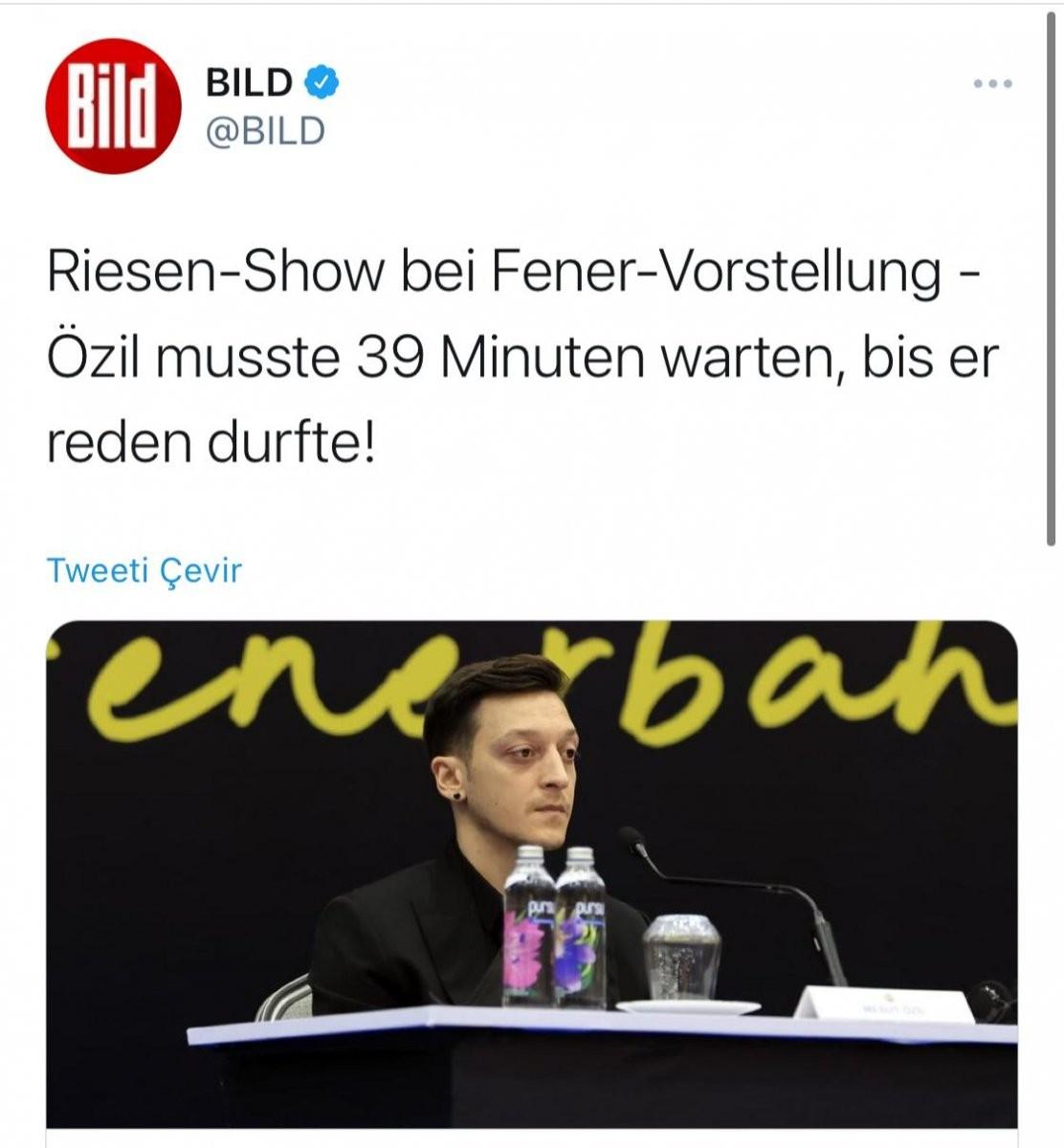 Resti çeken Mesut Özil Alman basınının hedefinde