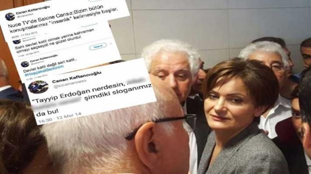 Kaftancıoğlu'nun suç teşkil eden tweetleri...