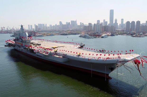 Çin uçak gemisi Type-001A
