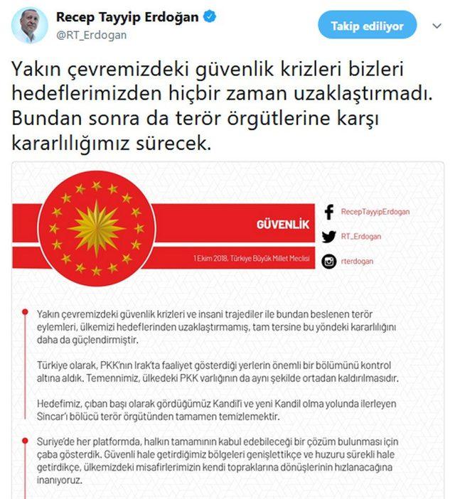 erdogan tweet