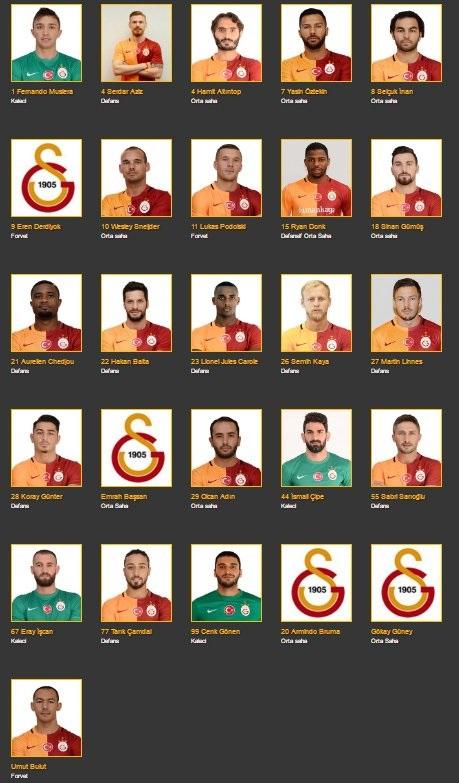 Galatasaray Resmi İnternet Sitesi, Blerim Dzemaili'yi yeni sezon kadrosuna dahil etmedi.