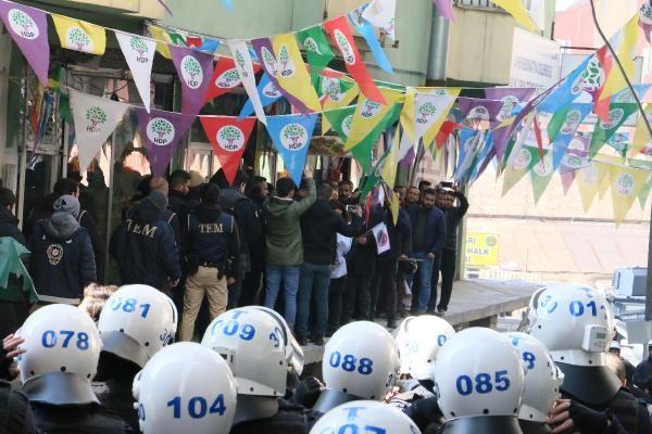 HDP'li vekillerin yürüyüşüne Hakkari'de de izin yok