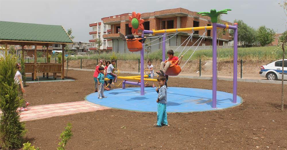 Belediyeden çocukları mutlu eden hizmet