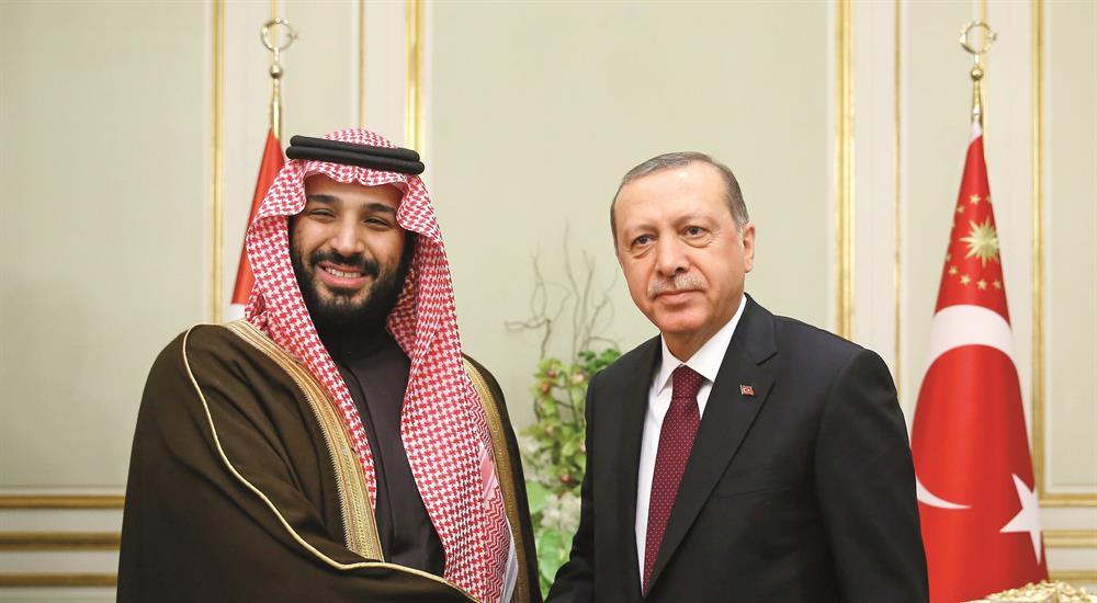 Cumhurbaşkanı Recep Tayyip Erdoğan, Riyad'da Suudi Arabistan Veliaht Vekili Prens Muhammed Bin Selman Bin Abdülaziz'i kabul etti. Cumhurbaşkanı Erdoğan'ın kabulü, konakladığı Kraliyet Misafirhanesinde gerçekleşti.