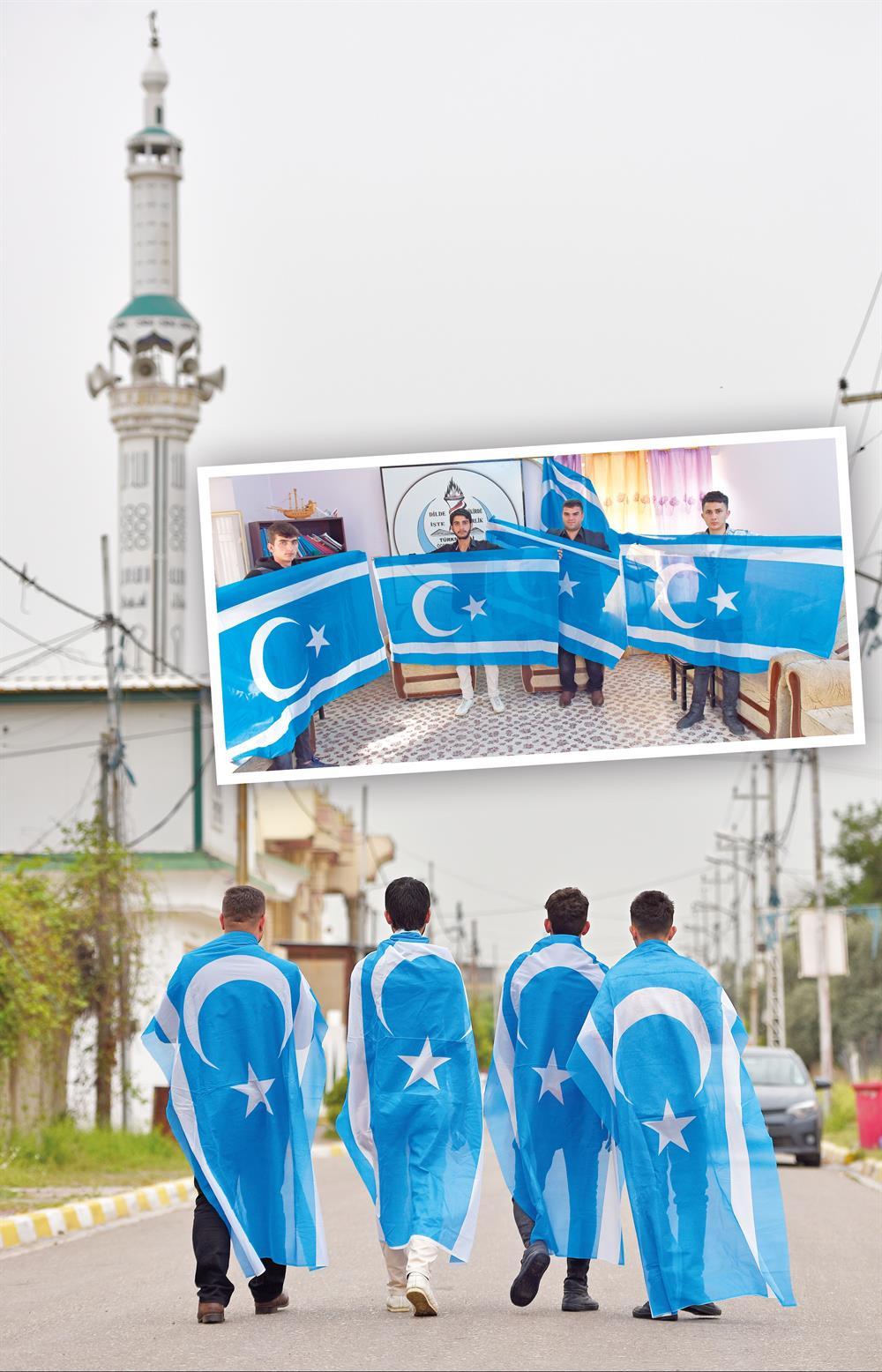 Kerkük Üniversitesi karışırsa memleketin de karışacağını iddia eden üniversiteli gençler, Kürt öğrencilerin okula silahla çok rahat girebildiğini söylüyor.