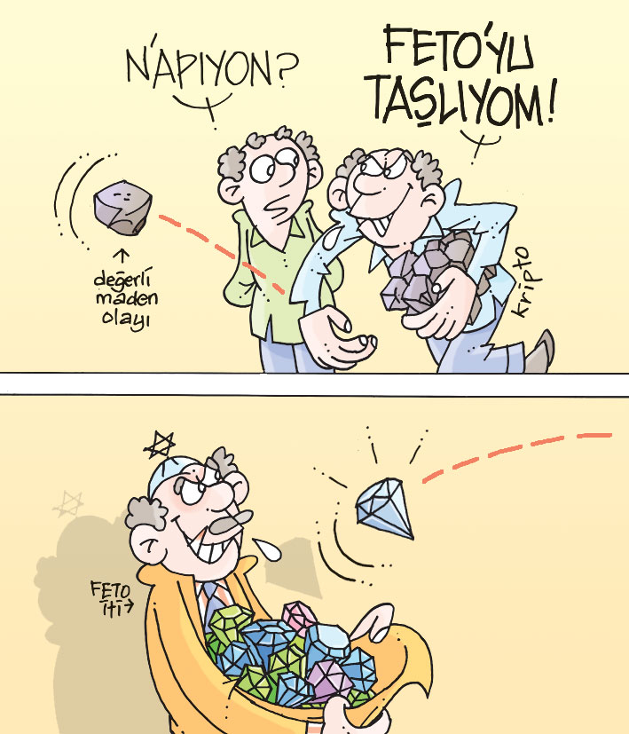 Günün Karikatürü - Yeni Akit
