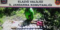 Terör örgütü PKK'ya ait depo ele geçirildi