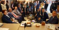 15 CHP'li yeni patronlarını ziyaret etti