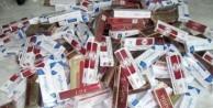 255 bin paket kaçak sigara ele geçirildi
