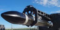 3D yazıcıyla üretilen roket uzaya fırlatıldı