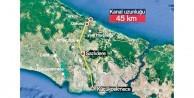 45 km'lik altın proje