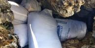 500 kilo patlayıcı maddesi ele geçirildi