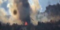 Taliban: Bomba yağdıran helikopteri düşürdük!