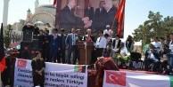 Afganlı Türkmenler Türkiye için meydanlarda