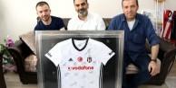 Afrin gazisine Beşiktaş'tan anlamlı hediye