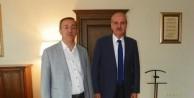 Ahmet Doğan'dan Kurtulmuş'a tebrik ziyareti
