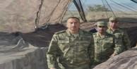 Aliyev cephe hattını inceledi