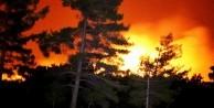 Arazi yangını kontrol altına alınamıyor!