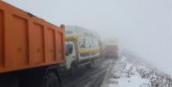 Ardahan-Ardanuç Karayolunda tipi sebebiyle yolda mahsur kaldılar