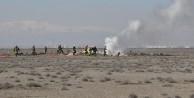 Uçak 2 roketle yere çakıldı!