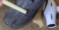 Ayakkabılarınızı su geçirmez yapmak çok basit!