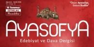 Ayasofya'dan '15 Temmuz İstiklal Mücadelesi' özel sayısı!