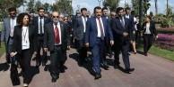 Bakan Faruk Çelik ve FAO heyeti, EXPO'yu gezdi
