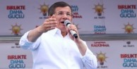 Başbakan Davutoğlu: Bunu yapan tek partiyiz