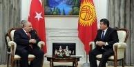 Başbakan Yardımcısı Tuğrul Türkeş ile Kırgızistan Başbakanı Ceenbekov görüştü