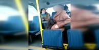 Başörtülü kıza minibüste saldıran saldırgan tahliye edildi!