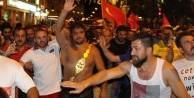 Başpehlivan Recep Kara, Er Meydanı'ndan çıkıp demokrasi nöbetine katıldı